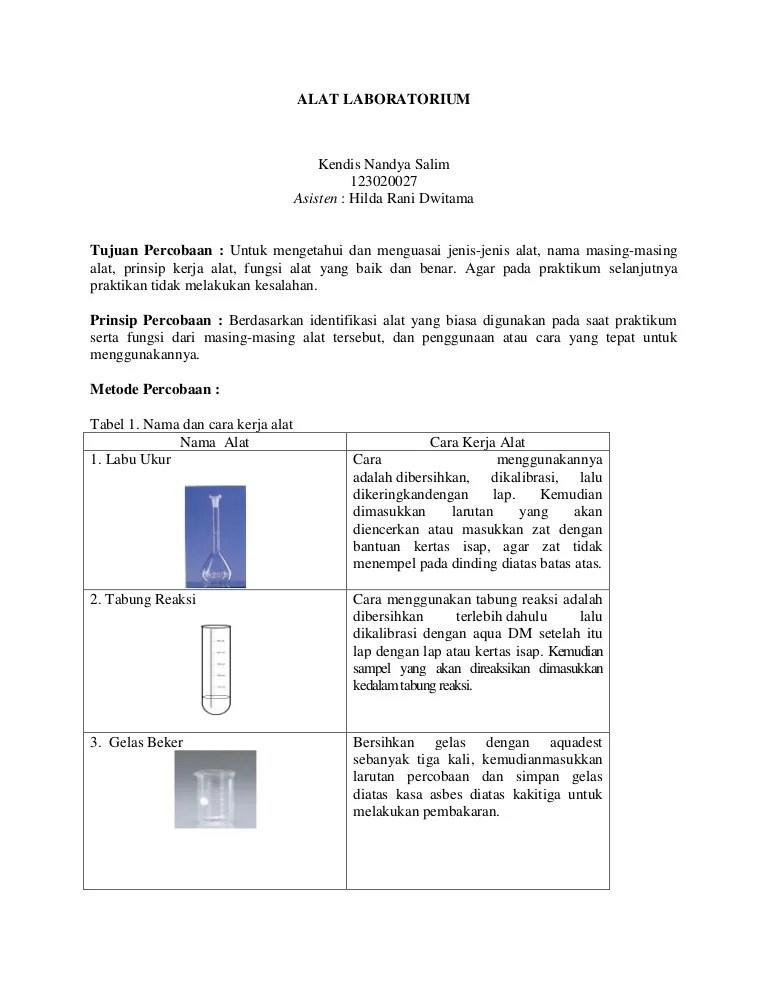 Tabung Reaksi Adalah : tabung, reaksi, adalah, Laboratorium, Kendis