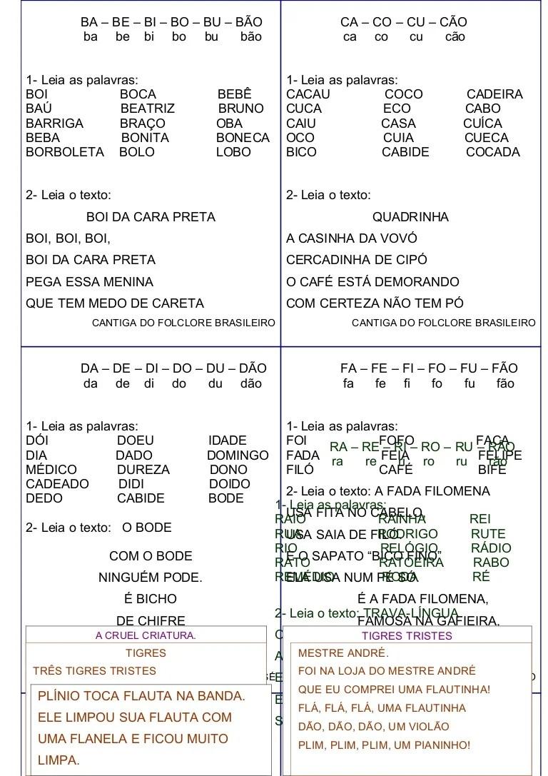 AlfabetizaO MTodo Tradicional Ativ