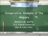 Amparo habeas corpus compared.ppt