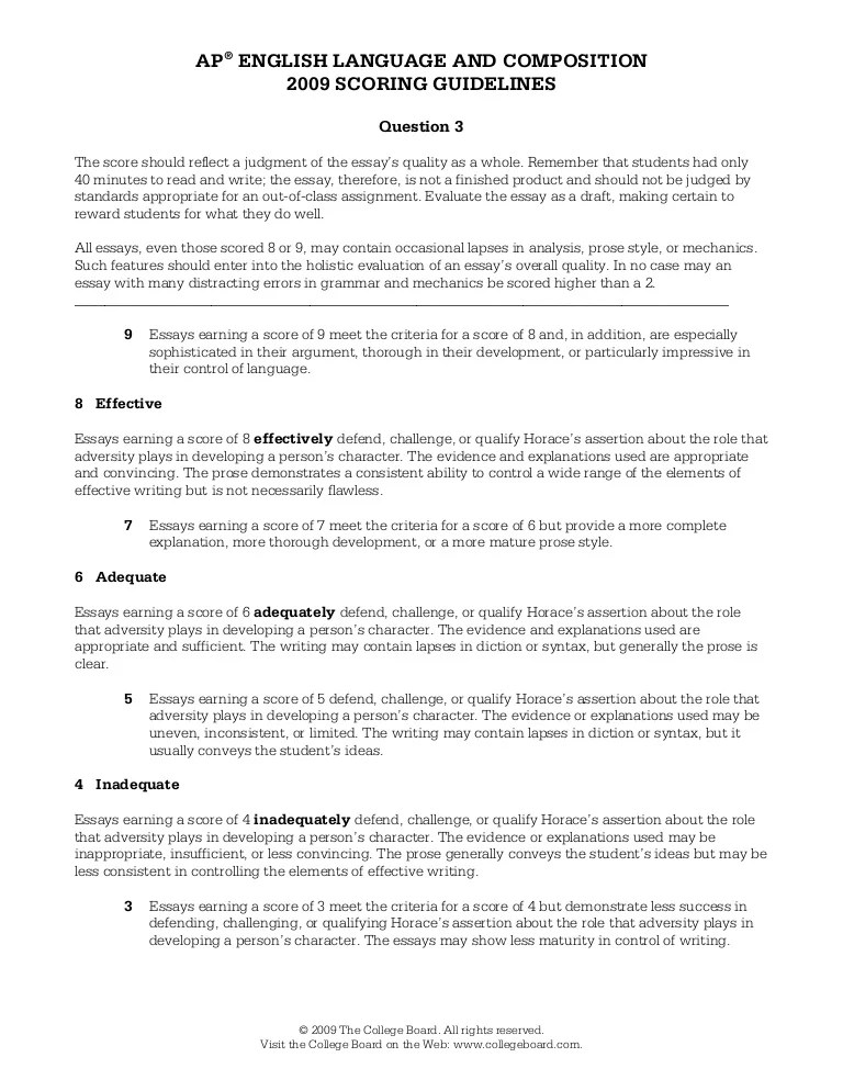 synthesis essay examples ap english