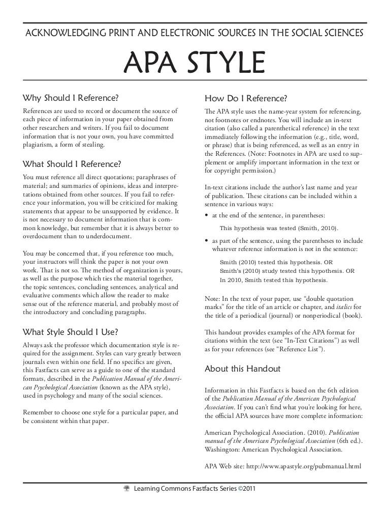 Case Study Apa Format Template Guve Securid Co