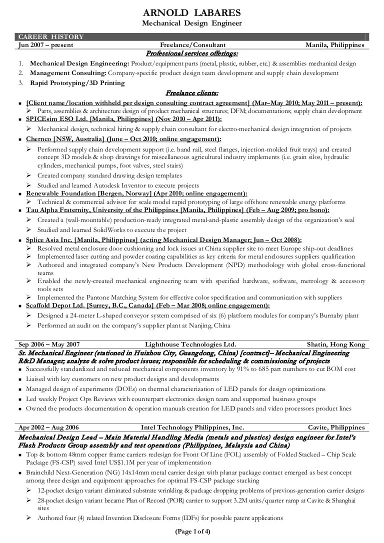 catia v automotive design engineer resume piping engineering youtube [ 768 x 1086 Pixel ]