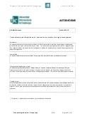 Autoevaluación - Autoinforme de asignatura