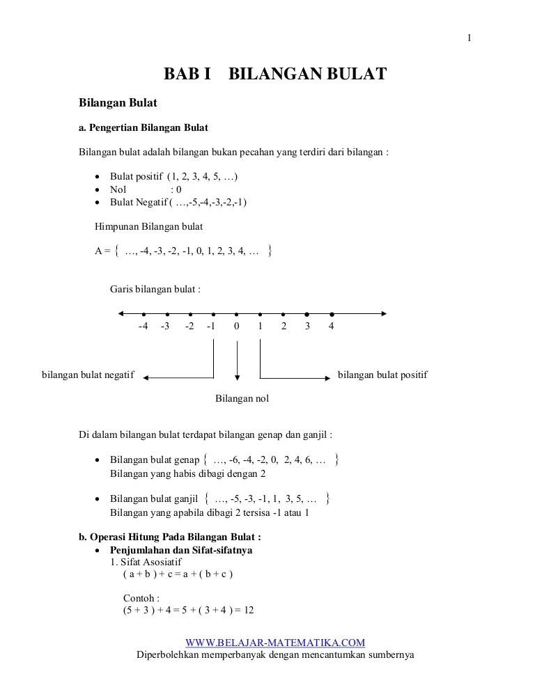 Pengertian Bilangan Bulat : pengertian, bilangan, bulat, I-bilangan-bulat