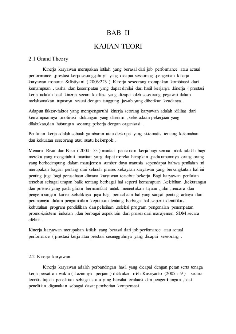 Pengertian dan Contoh Landasan Teori Proposal, Penelitian