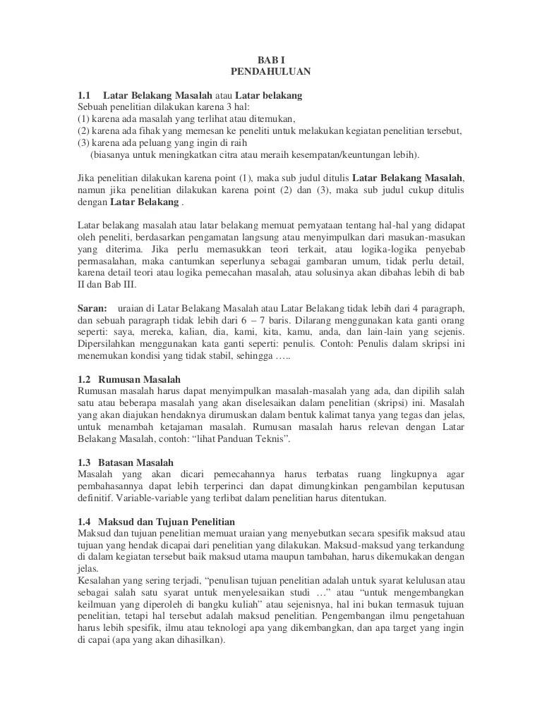 Contoh Judul Dan Rumusan Masalah Penelitian : contoh, judul, rumusan, masalah, penelitian, Pendahuluan, Melwin, Syafrizal