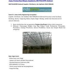 Distributor Atap Baja Ringan Yogyakarta Galvalum Jogja Canopy Rangka Ring