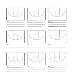 Basketball Court Diagram With Notes Mitsubishi Triton Mn Radio Wiring