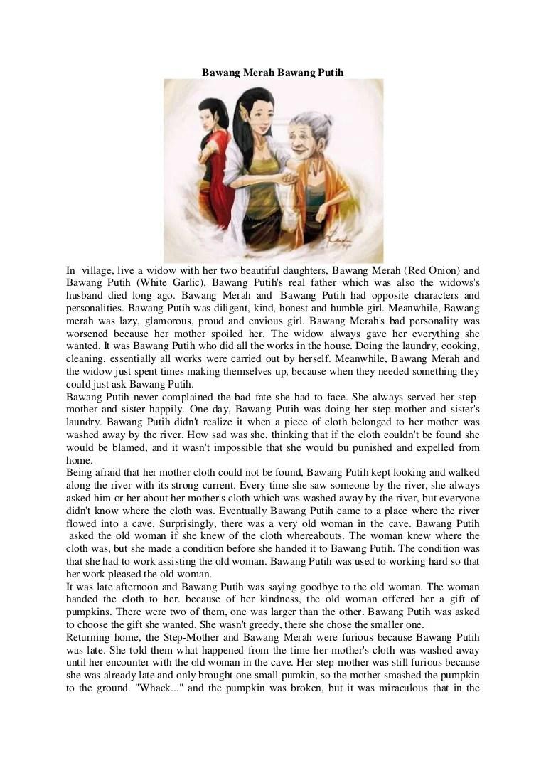 Cerita Bawang Merah Bawang Putih : cerita, bawang, merah, putih, Bawang, Merah, Putih, Short, Story