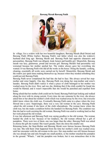 Cerita Bawang Merah Bawang Putih : cerita, bawang, merah, putih, Bawang, Merah,, Putih