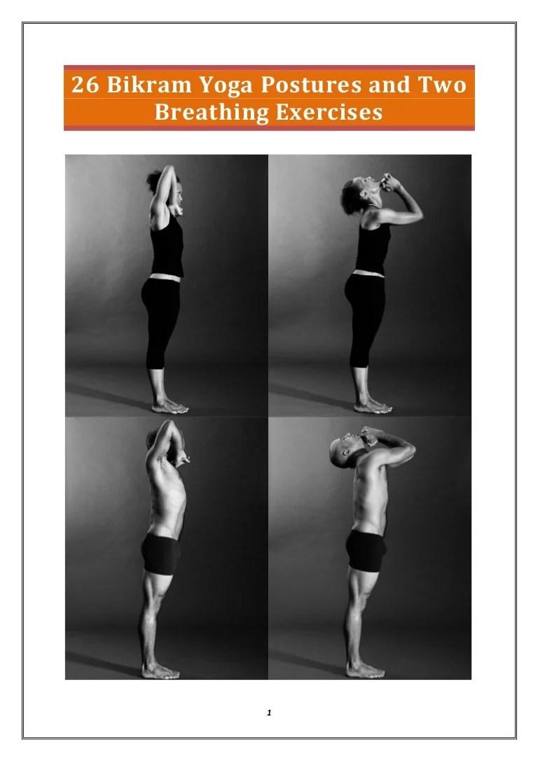 26 Hot Yoga Poses : poses, Detailed, Guide, Bikram, Poses, Benefits