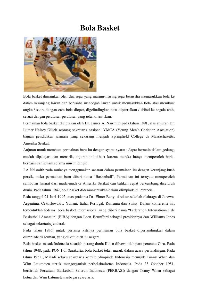 Perbasi Singkatan Dari : perbasi, singkatan, Basket