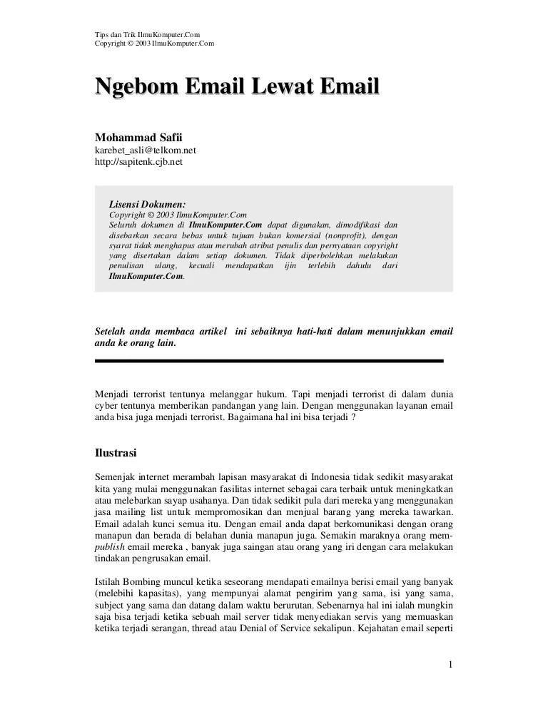 Layanan Email, Kecuali : layanan, email,, kecuali, Email