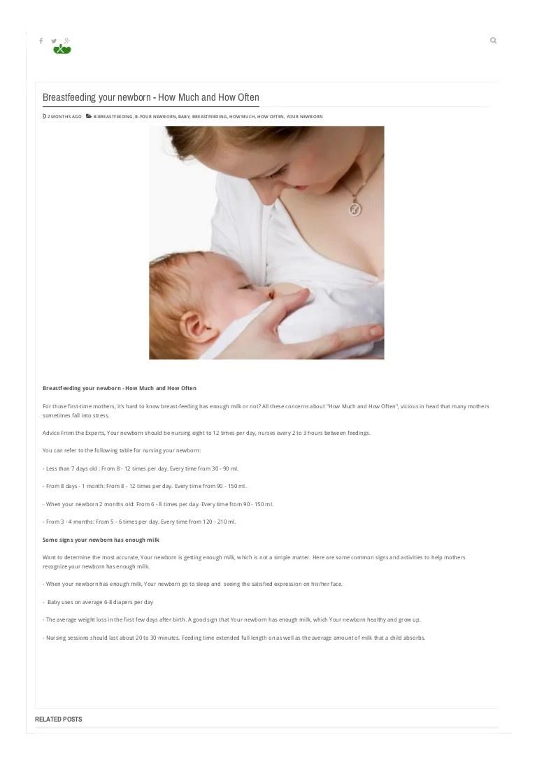 Breastfeeding Time 2 Months