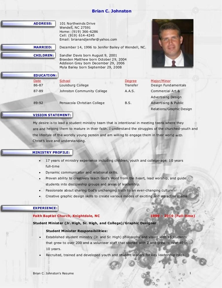 Resume CV Cover Letter Business Resume Template Administration