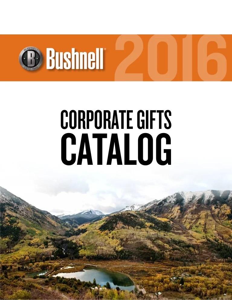bushnell catalogue 2016