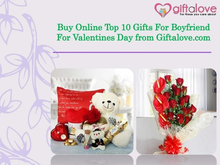 Buy Online Top 10 Gifts For Boyfriend For Valentines Day