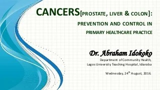 Liver Cancer From Colon
