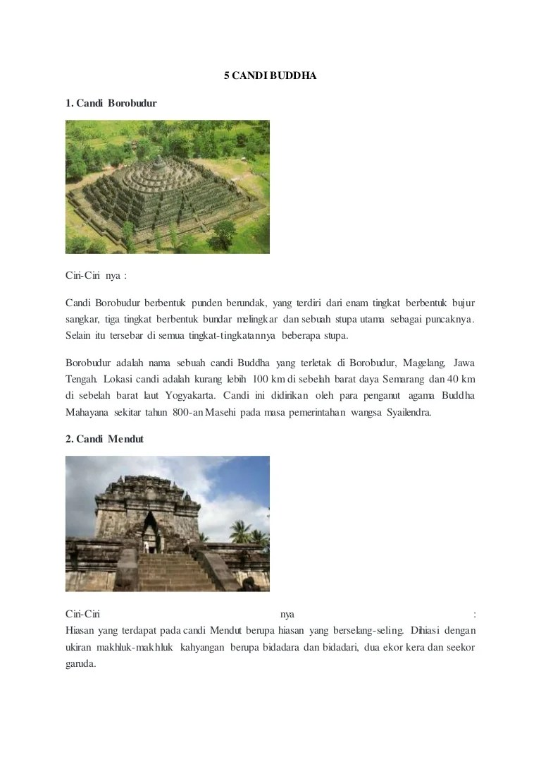 Ciri Ciri Candi Di Jawa Timur : candi, timur, Candi, Hindu, Budha