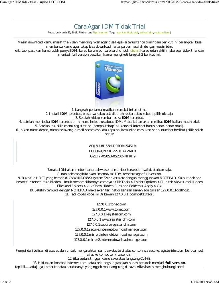 Idm Minta Serial Number : minta, serial, number, Tidak, Meminta, Registrasi, Dalam