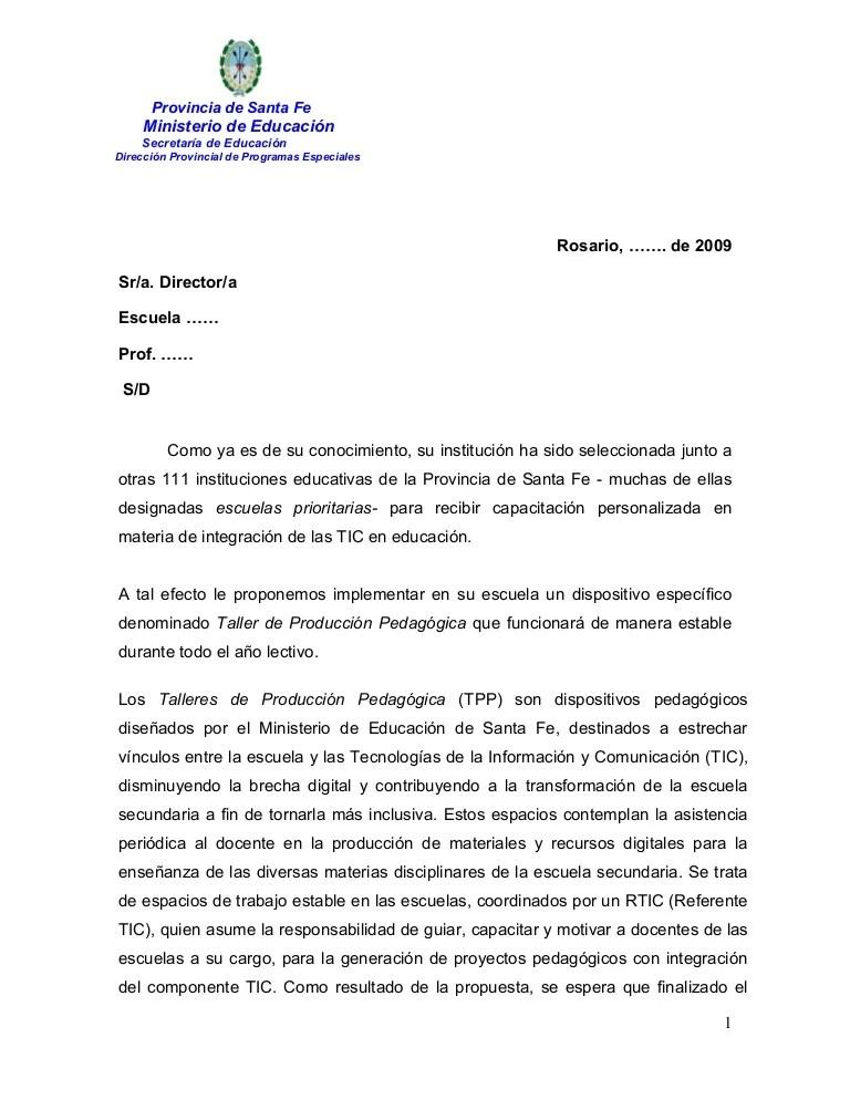 Carta Directivos Escuelas 1
