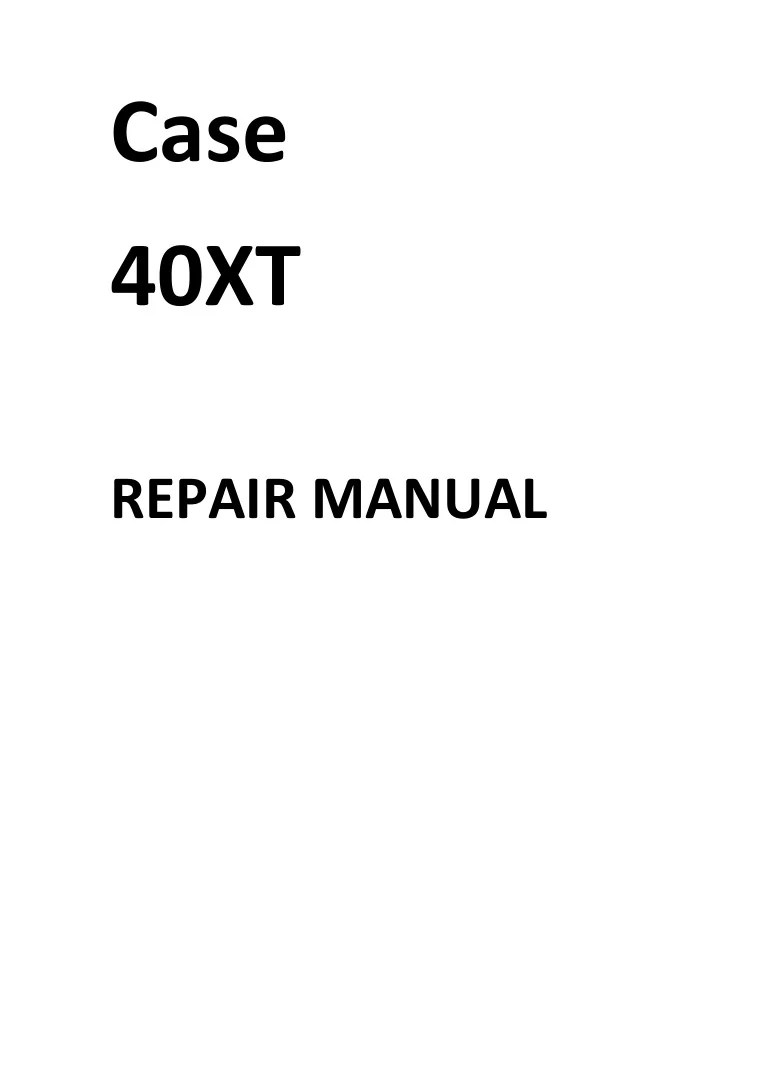 small resolution of case 40xt wiring diagram