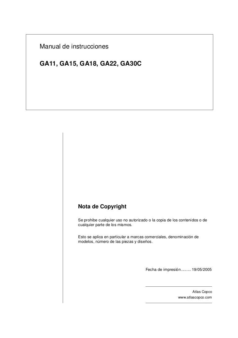 atla copco ga22 wiring diagram [ 768 x 1087 Pixel ]
