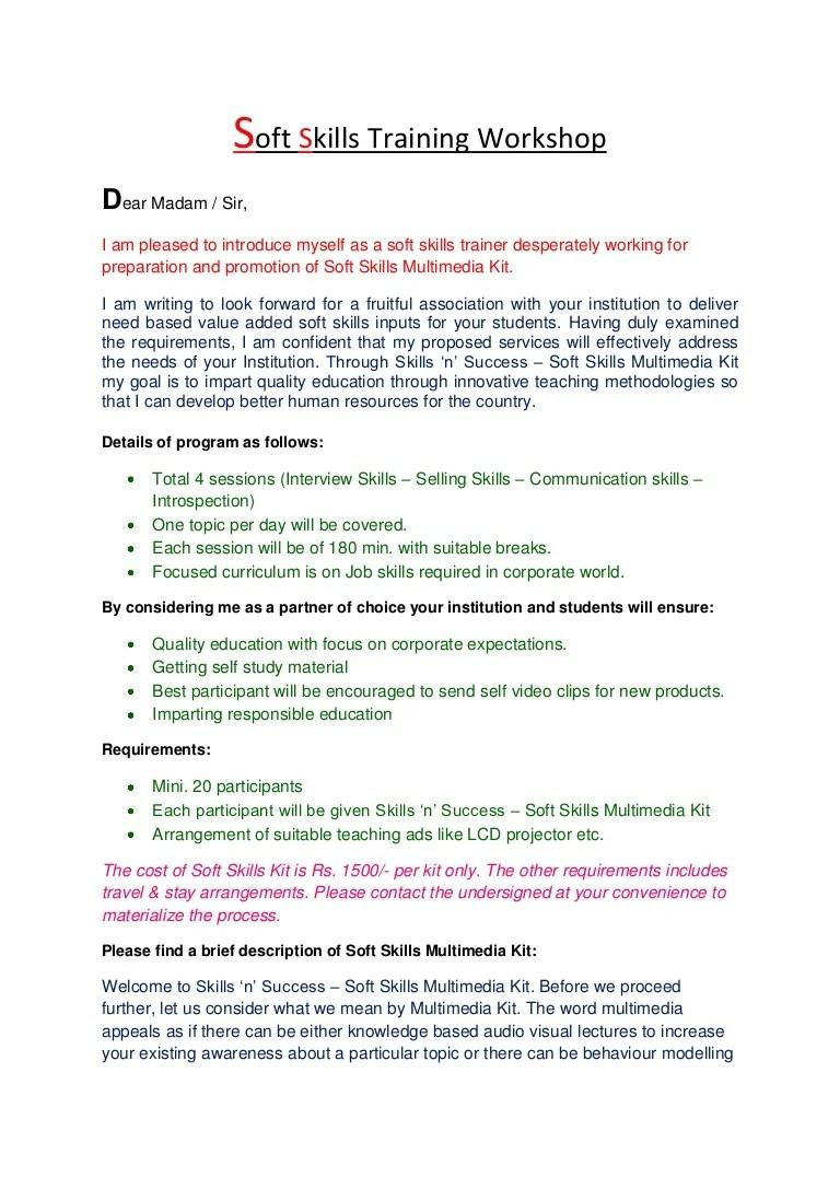 Soft Skills Training Workshops