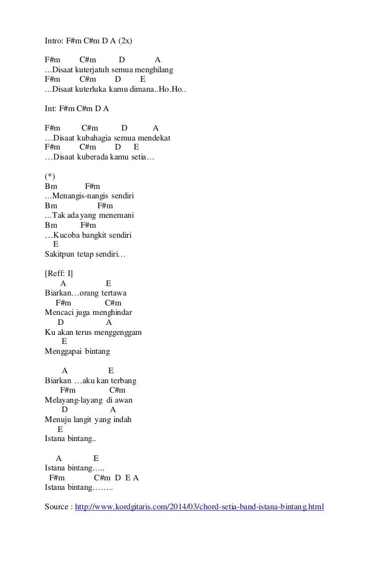 Kunci Gitar Disaat Aku Pergi : kunci, gitar, disaat, pergi, Mujizat, Nyata, Chordtela