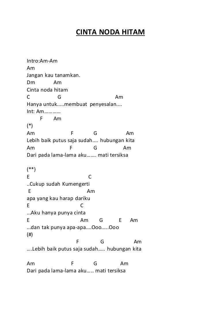Kunci Gitar Secangkir Kopi : kunci, gitar, secangkir, Dangdut, Secangkir