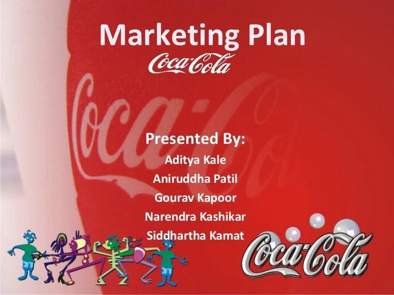 Marketing Presentation On Coca Cola