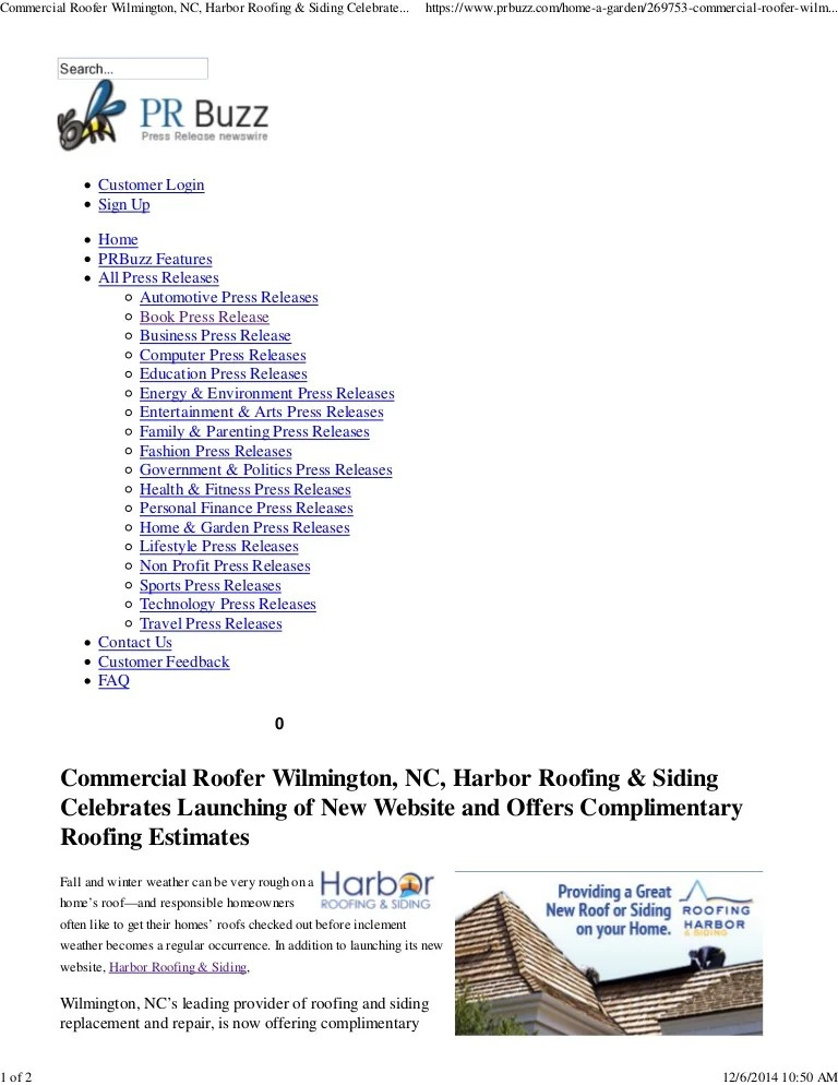 bor roofing commercial roofer wilmington nc harbor siding celebrates