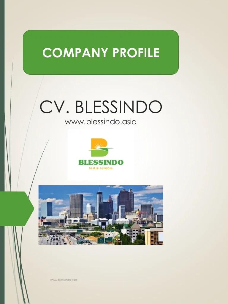 Contoh Company Profile Kontraktor : contoh, company, profile, kontraktor, Company, Profile, Blessindo, Cute766