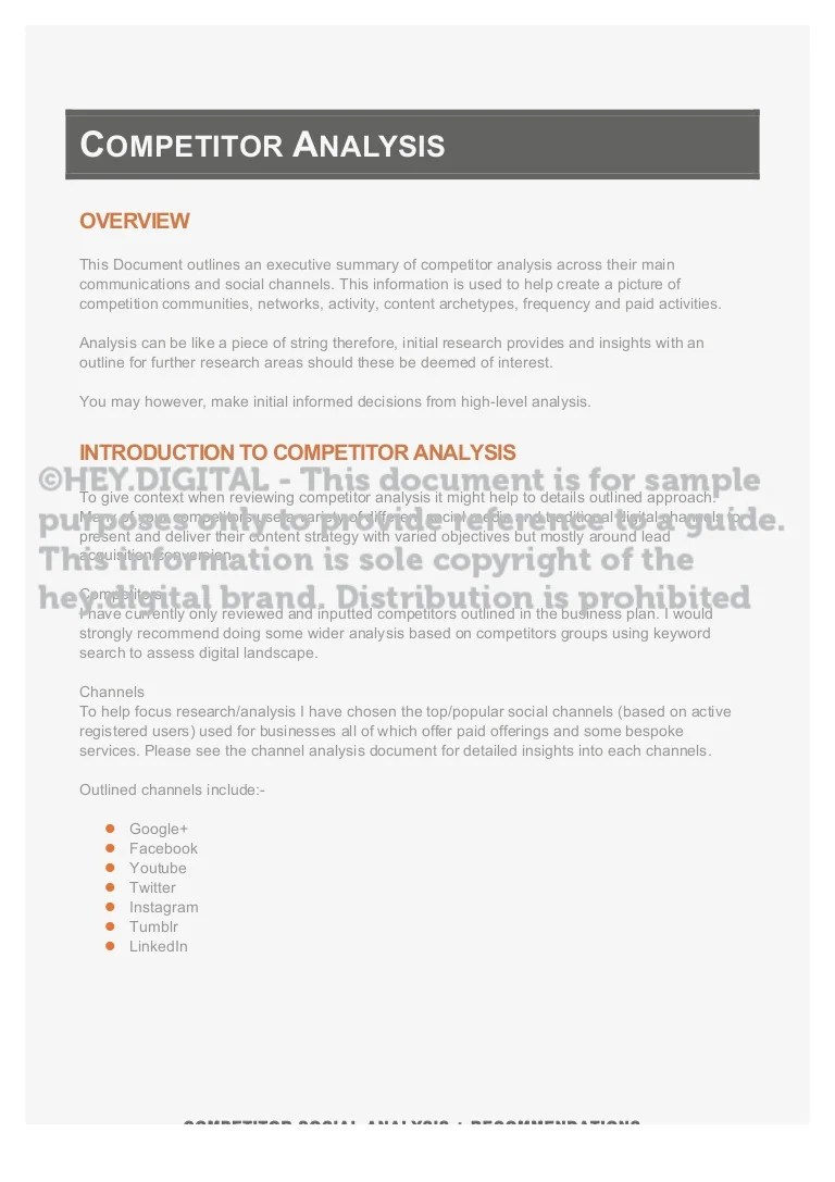 Content Strategy Guide Considering Competitors Competitor Analysi