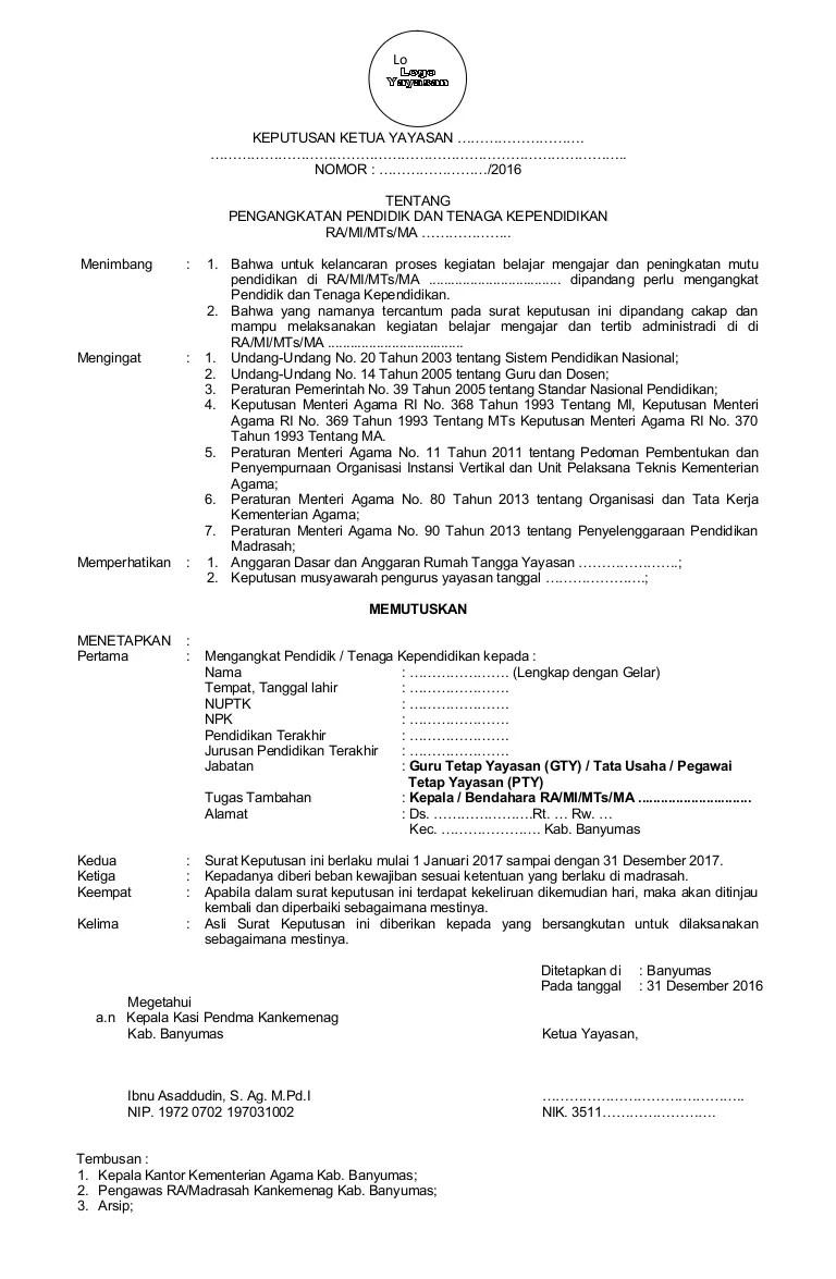 Contoh Surat Keputusan Pengangkatan Jabatan : contoh, surat, keputusan, pengangkatan, jabatan, Contoh, Sk-pengangkatan-pendidik-dan-tenaga-kependidikan-revisi