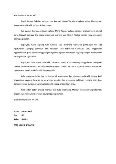 Pidato Bahasa Jawa Krama : pidato, bahasa, krama, Automatic, Level, NIKON, 082119696710