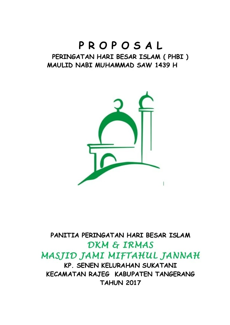 Proposal Masjid Doc : proposal, masjid, Kumpulan, Proposal, Renovasi, Masjid, Coretan