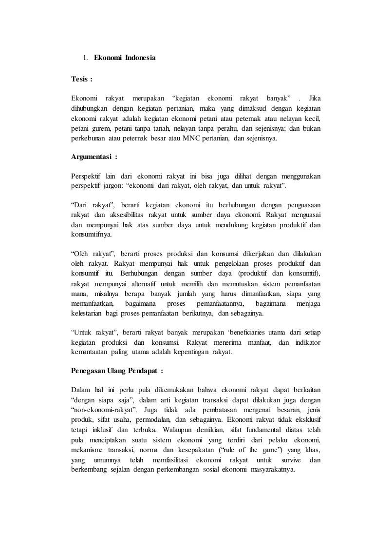 Struktur Teks Eksposisi Beserta Contohnya (Mudah)