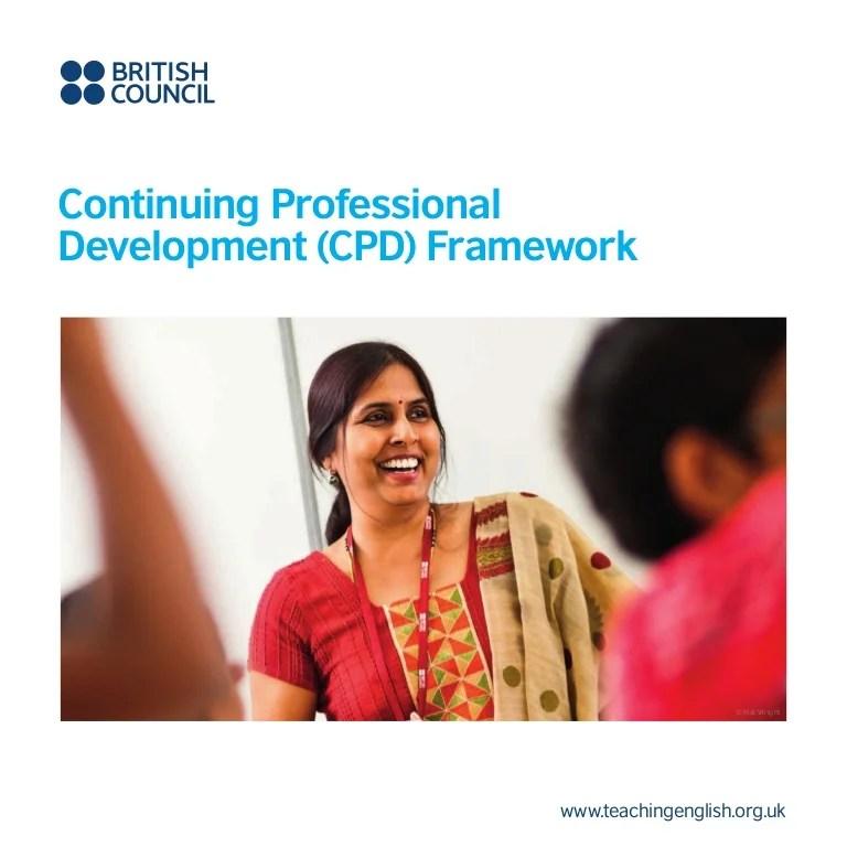 Cpd framework for_teachers
