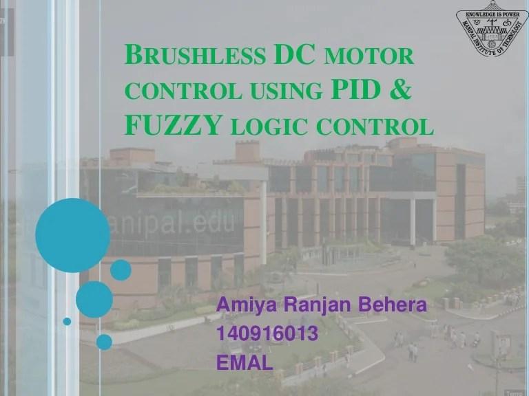 Design Of Fuzzy Logic Controller For Speed Regulation Of Bldc Motor U