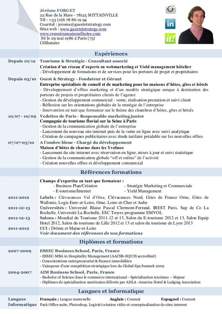 exemple cv formatrice