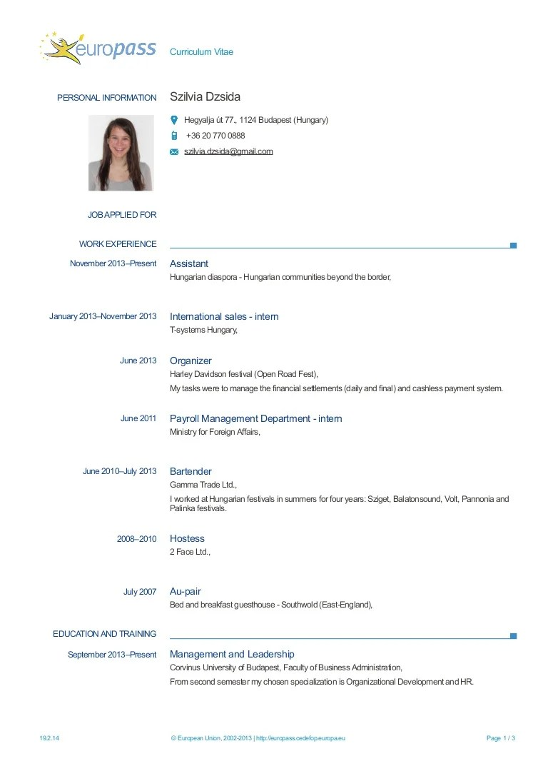 CV Apprenticeship Or Internship Placement Wanter