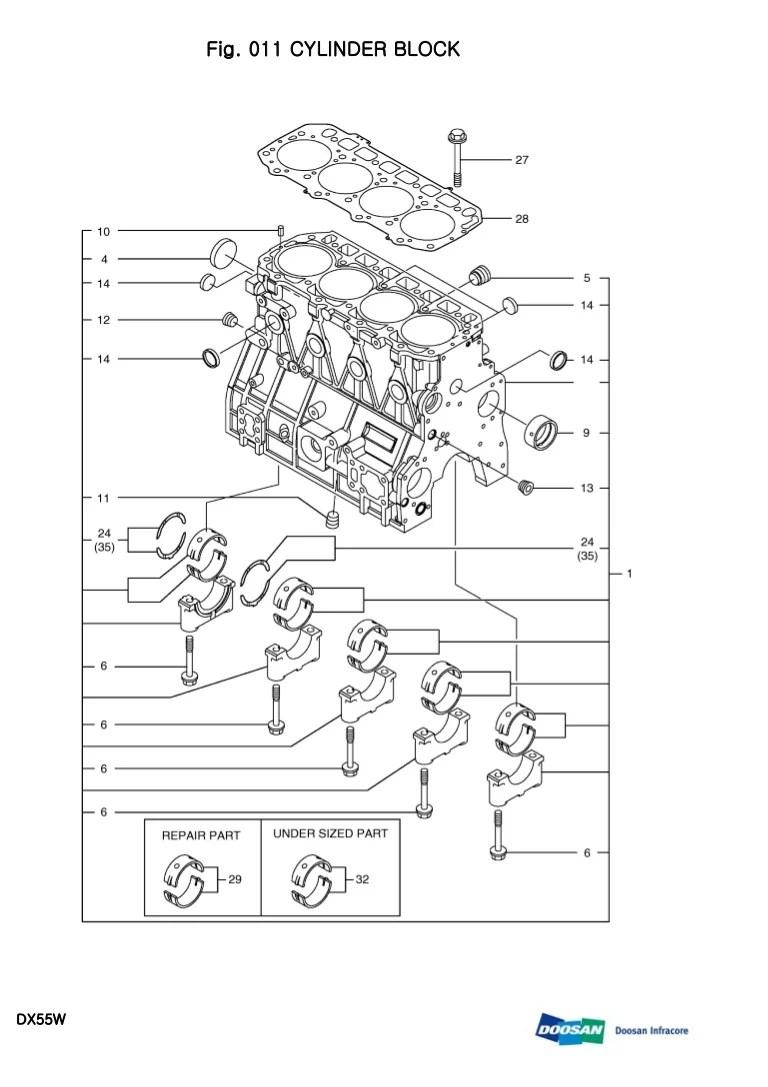daewoo excavator wiring diagram [ 768 x 1087 Pixel ]