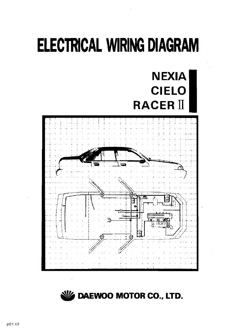 daewoo wiring diagrams electrical wiring diagrams air conditioner relay diagram daewoo air conditioner wiring diagram [ 768 x 1087 Pixel ]