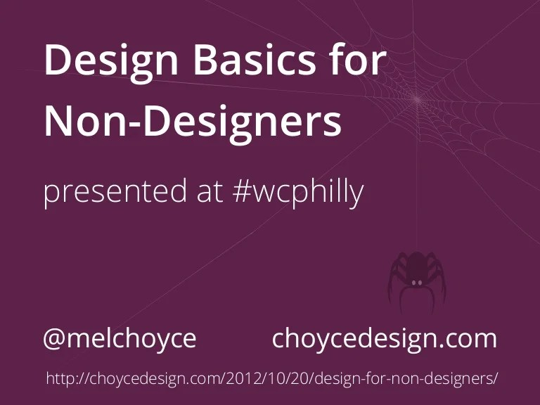 Design Basics For Non-Designers