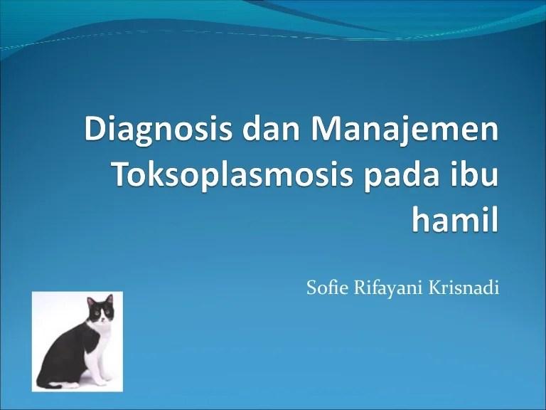 Diagnosis dan manajemen toksoplasmosis pada ibu hamil