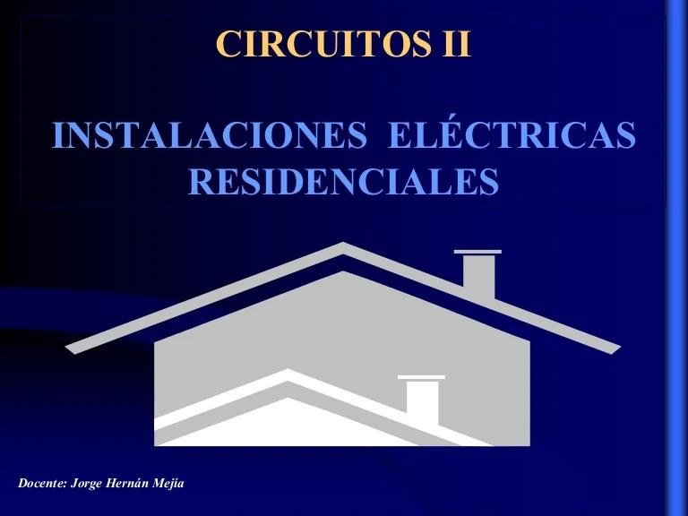 Diseo instalaciones electricas residenciales