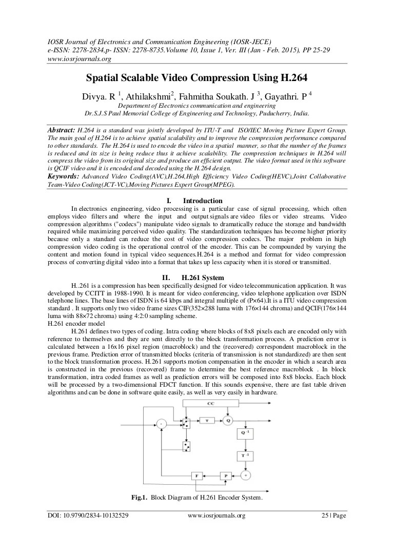 small resolution of h 264 encoder block diagram