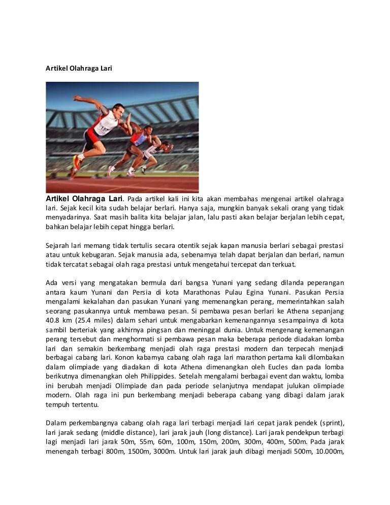 Lari Jarak Dekat Menggunakan Start : jarak, dekat, menggunakan, start, Artikel, Olahraga