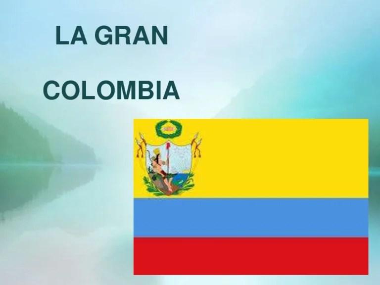 Resultado de imagen para  Gran Colombia